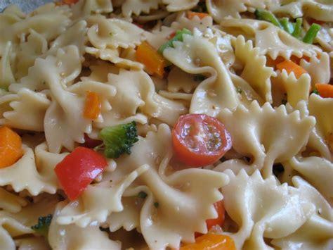 pasta salad dishes teriyaki pasta salad recipe