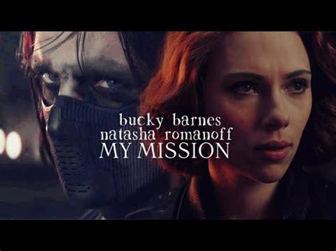 bucky barnes natasha romanoff  mission youtube
