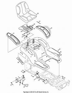 Troy Bilt 13wq93kp011 Super Bronco  2014  Parts Diagram