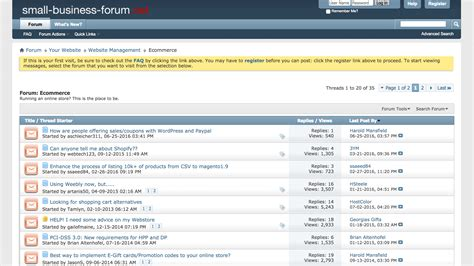 20 Online Seller Forums & Communities You Need to Join