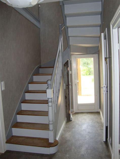 peindre chambre 2 couleurs 25 best ideas about peinture escalier bois on