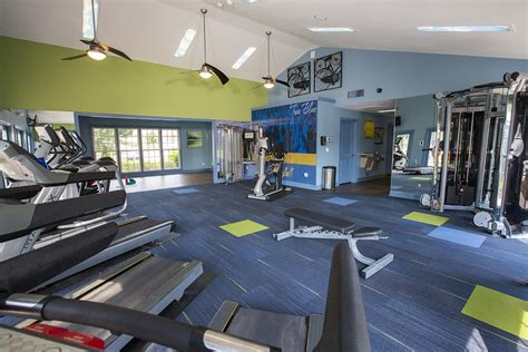 Apartment Fitness Center by Statesboro Apartments Utilities Included Amenities