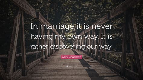 """""""in Marriage It Is Never Having My Own"""