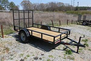 5x10 Angle Utility Trailer For Sale