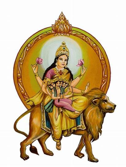 Transparent Durga Goddess Nav Skandamata Wordzz Navdurga