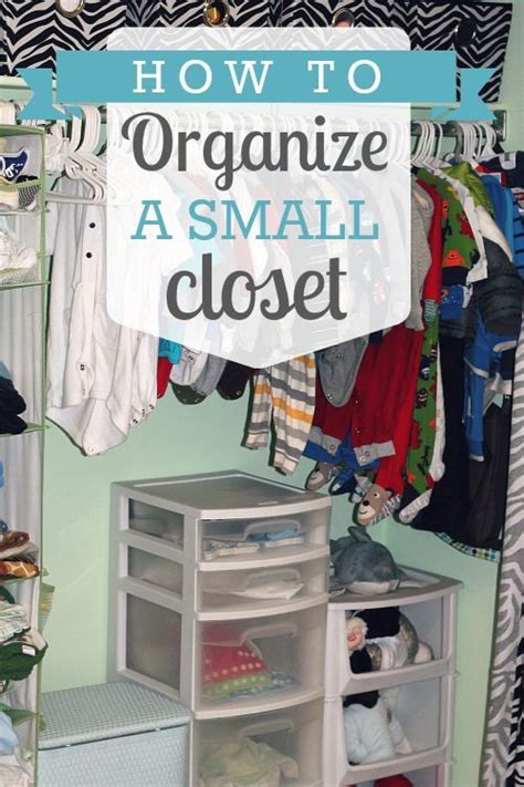 How To Organize Small Closets by 20 Diy Closet Solutions A Craft In Your Daya
