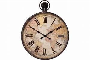 Horloge Pas Cher : horloge murale kare design marron alicia horloge design pas cher ~ Teatrodelosmanantiales.com Idées de Décoration