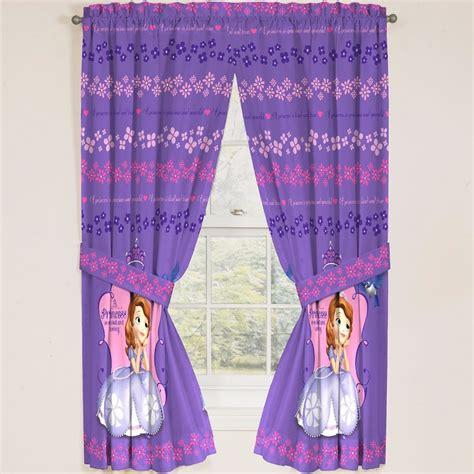 cortinas de princesas par de cortinas disney princesa sofia 397 00 en