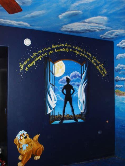 peter pan wall mural nurseries pinterest