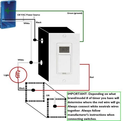 wiring diagram for a timer switch extra wires in timer i want to install the home depot community