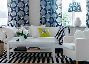 Graue Vorhänge Ikea : 25 wohnzimmer design ideen von ikea ~ Michelbontemps.com Haus und Dekorationen