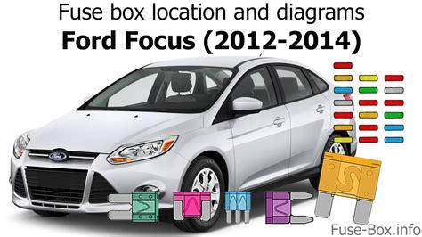 Fuse Box Location Diagrams Ford Focus