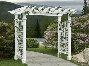 Simple Grape Arbor Plans - WoodWorking Projects & Plans
