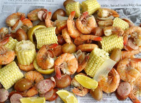 country shrimp boil video