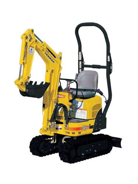 yanmar sv  mini excavator pierce hire