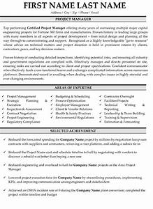 Resume Sample For Banking Professionals Top Management Resume Templates Samples