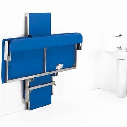 Smirthwaite Riser Changing Hi Mounted Bench Space
