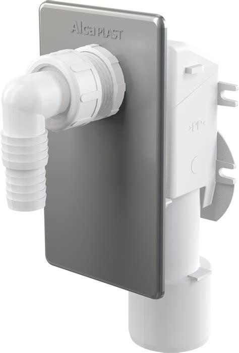 kondenstrockner anschluss abwasser alcaplast aps3 ger 228 tesiphon unterputz dn 40 50mm abwasseranschluss f 252 r waschmaschine