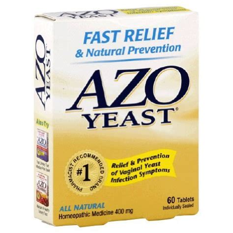 Beer Uti Azo Azo Yeast Infection Prevention 60 Tablets