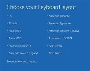 How To Fix Windows 10 Stuck At  U201cchoose Your Keyboard
