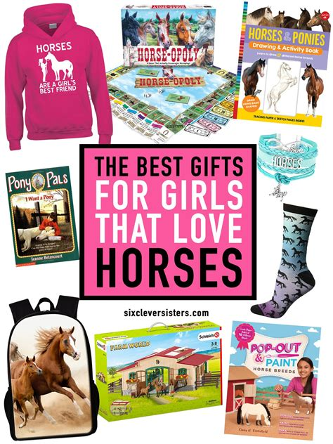 gifts horse horses sisters gift sixcleversisters presents birthday clever six christmas