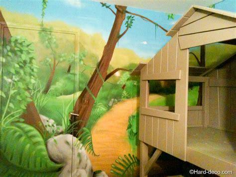 deco jungle chambre décoration chambre bébé garçon jungle