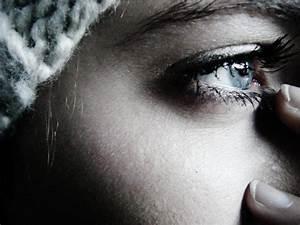 beautiful, blue eyes, eye, sad, sadness - image #364219 on ...