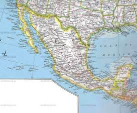 Detailed Map of Mexico Cities