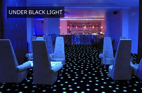 carpets neon lights glow in the carpet tile squares