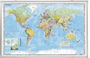 Tableau Du Monde : tableau carte du monde aimant rentr e des classes ~ Teatrodelosmanantiales.com Idées de Décoration