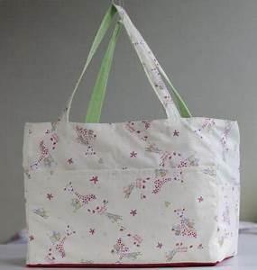 Doudou En Tissu à Faire Soi Même : faire un sac en tissu soi meme ~ Nature-et-papiers.com Idées de Décoration