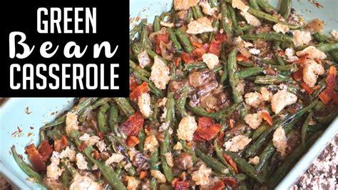 green bean casserole keto thanksgiving recipe youtube