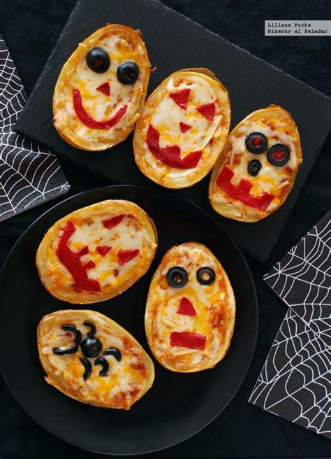 Patatas Rellenas Monstruosas Receta De Halloween