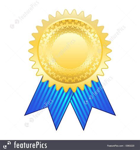 symbols gold award ribbon stock illustration   featurepics