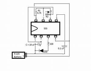 555 Ic Intro  Flashing Led   12 Steps