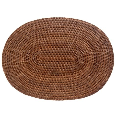 oval placemats oval rattan placemats