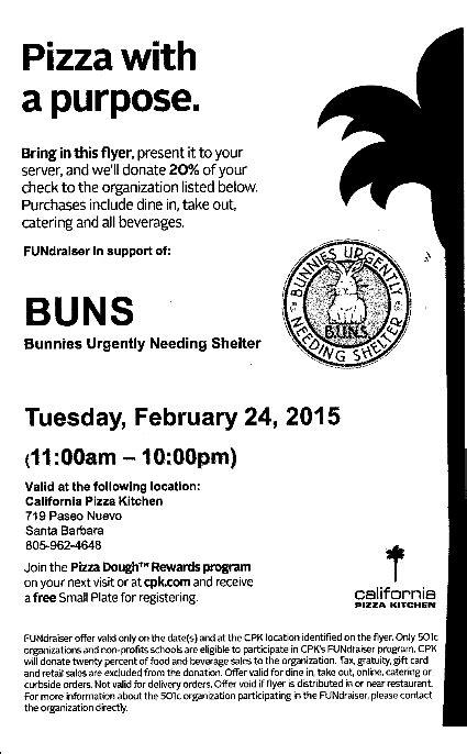 Support the BUNS Fundraiser! (Bunnies Urgently Needing