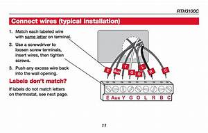 Honeywell Thermostat Th8320u1008 Wiring Diagram