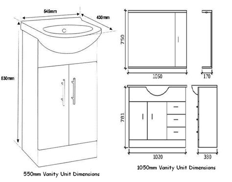 bathroom vanity cabinet dimensions pertaining to standard