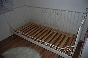Metallbett Ikea Weiß : gebraucht ikea metallbett minnen wei 90x200 in 4931 ~ Watch28wear.com Haus und Dekorationen