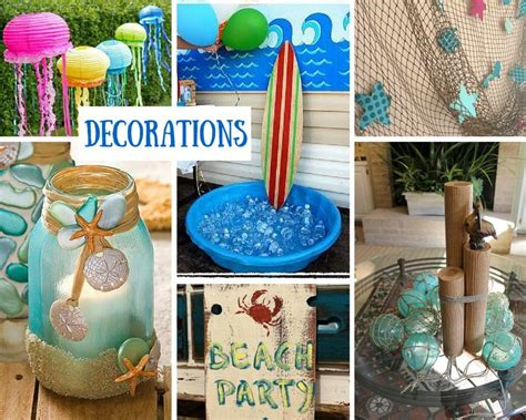 beach party ideas  kids summer party ideas