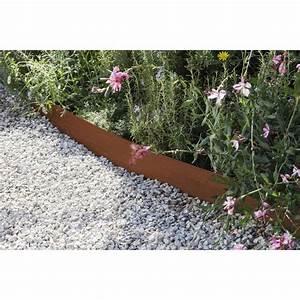 Bordure De Jardin Metal : bordure planter aspect rouille acier galvanis marron h ~ Dailycaller-alerts.com Idées de Décoration