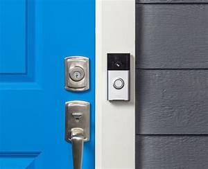 Nest Hello Vs Ring Video Doorbell  Side