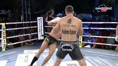 Andrei Stoica Romania vs Fred Sikking Netherlands 01 August 2015 Superkombat - YouTube