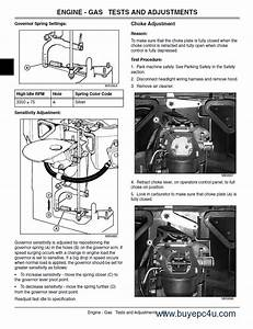 John Deere Lawn Tractor G100 Technical Manual Tm2020
