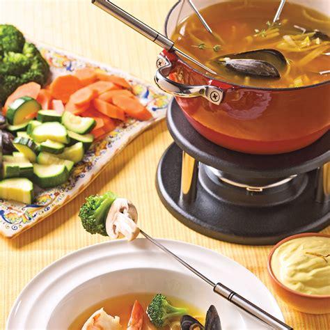 cuisine recettes pratiques fondue bouillabaisse recettes cuisine et nutrition