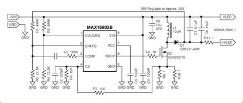 Design Nonisolated Flyback Led Driver Reference Schematic