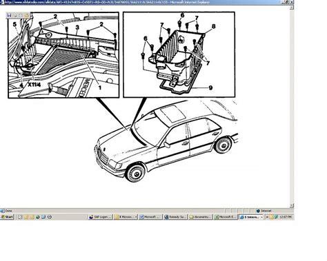 Maf Wiring Problem Mercedes Benz Forum