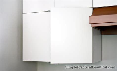 attach  ikea sektion cabinet door simple