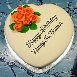 Happy, Birthday, Nanay, In, Heaven, Image, Of, Cake, Card, Wishes